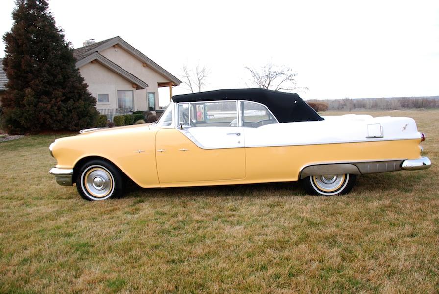 1955 pontiac star chief convertible riverside motor sports. Black Bedroom Furniture Sets. Home Design Ideas